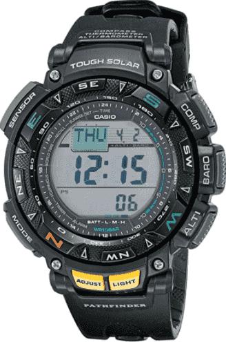 Casio Men's Pathfinder Multi-Function Sport Watch