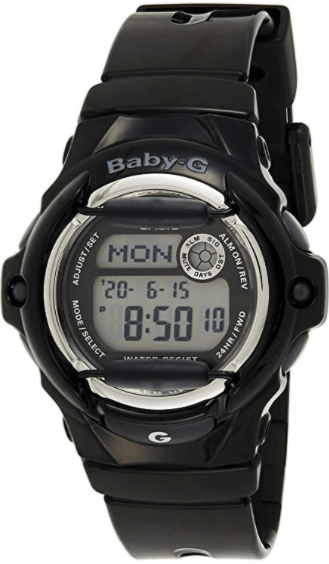 Women's Baby-G Black Whale Digital Watch