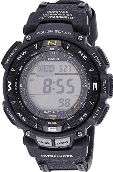 Casio Men's Pro Trek Stainless Steel Watch