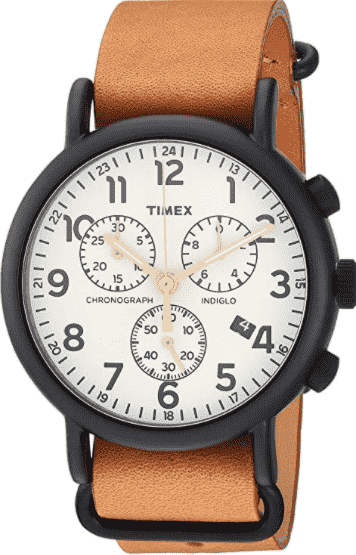 Timex Weekender Chronograph Watch: Most Inexpensive