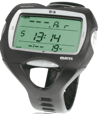 Mares Nemo Wide Dive Computer Wrist Watch – Best Watch for Scuba Diving