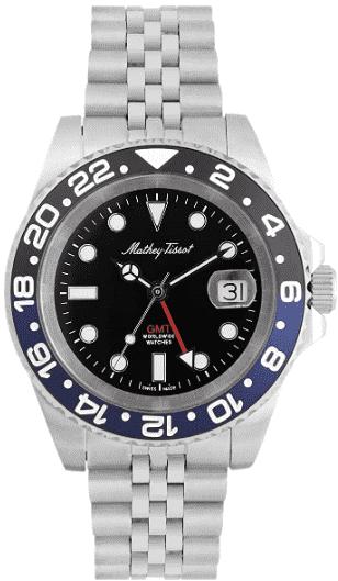 Mathey-Tissot Vintage GMT Watch