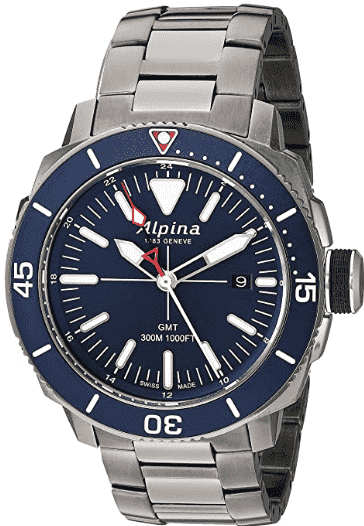 Alpina Seastrong Diver Swiss Watch