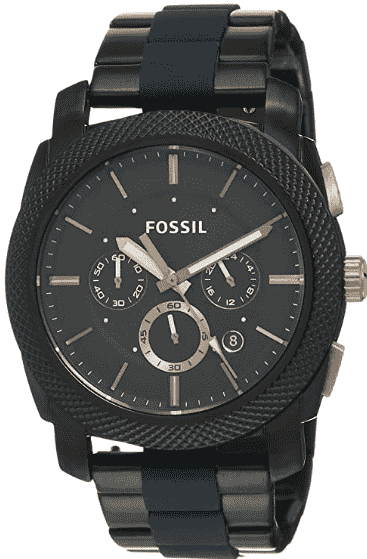 Fossil Men's Machine Stainless Steel Chronograph Watch
