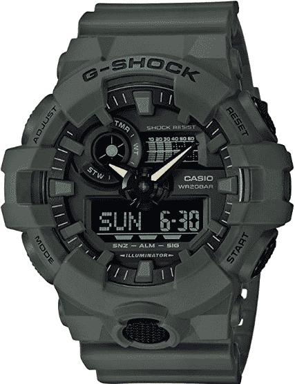 Casio Men's XL Series Watch (GA-700UC-3ACR)