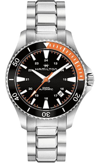 Hamilton Khaki Navy Scuba Watch Steel
