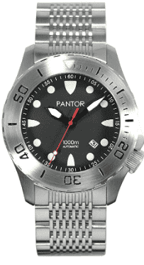 Pantor Seahorse Pro Automatic Dive Watch (Steel)