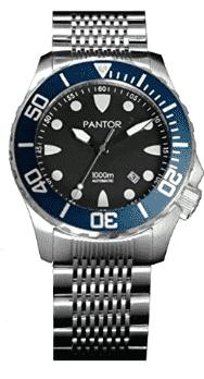 Pantor Seahorse Pro Automatic Dive Watch (Blue)