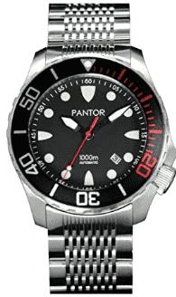 Pantor Seahorse Pro Automatic Dive Watch (Black)