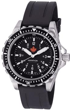 Marathon Swiss Made Military Jumbo Diver's Watch (Rubber Strap II)