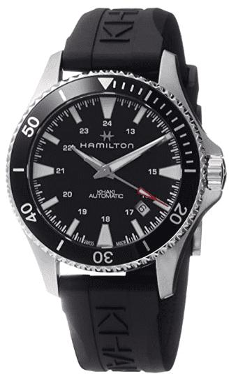 Hamilton Khaki Navy Scuba Watch Rubber