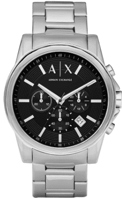Armani Exchange Stainless Steel Watch V