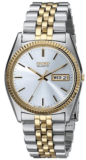 Seiko Quartz SGF204 Two-Tone Watch