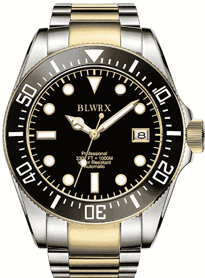 BLWRX Men's Diver Watch