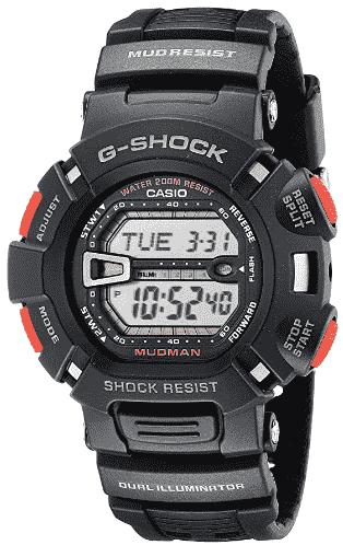 Casio G-Shock Mudman G9000-1 Sport Watch