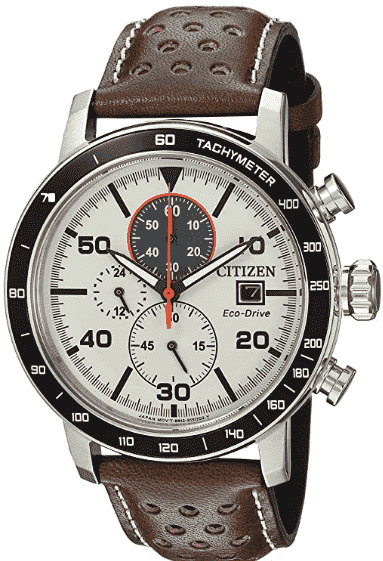 Citizen's Leather Casual Watch