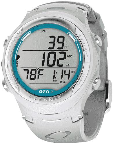 Oceanic Geo 2.0 Air Nitrox Computer Watch