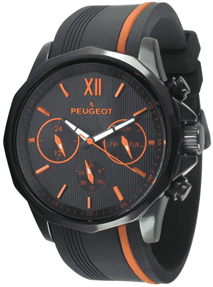 Peugeot Men's Chronograph Sport Watch
