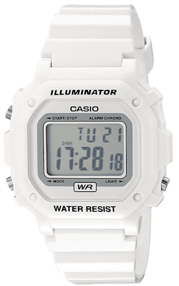 Casio Unisex White Watch – Most Affordable Watch for Medical Students