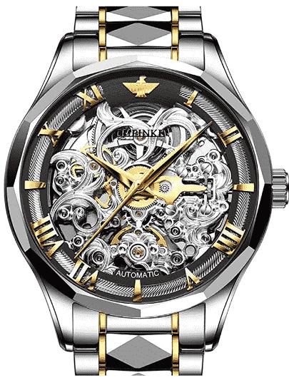 OLEVS Automatic Skeleton Watch