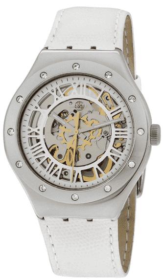 Swatch Skeleton Dial Ladies' Watch