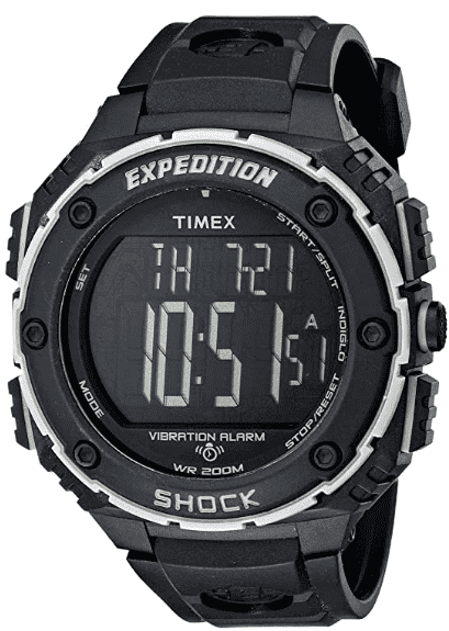 Timex Expedition Shock XL Watch – Digital Watch with Large Numbers