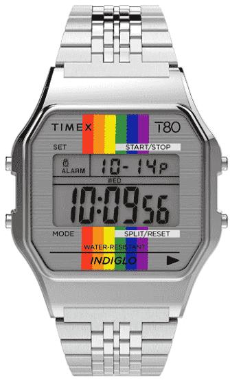 Timex T80 34mm Watch – Best Digital Watch for Older Ladies